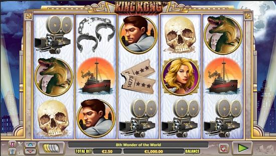king kong slot screenshot big