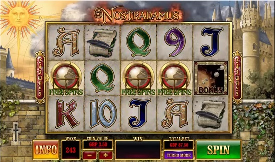 nostradamus slot logo big screenshot