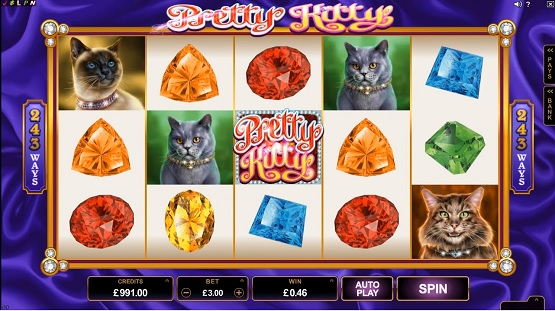 pretty kitty slot screenshot big