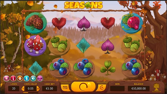 seasons slot screenshot big