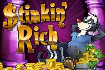 stinkin rich slot logo