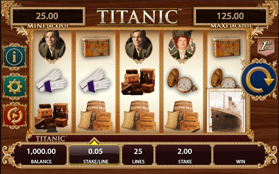 titanic slot screenshot big