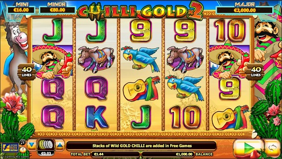 Chilli Gold x2 Slot Screenshot big