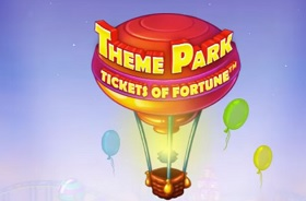 Theme Park Tickets of Fortune slot logo