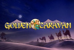 golden caravan slot logo