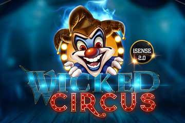 wicked circus slot logo