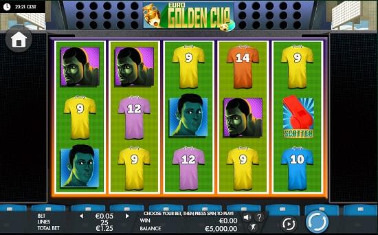 Euro Golden Cup slot screenshot big