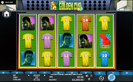 Euro Golden Cup slot screenshot big