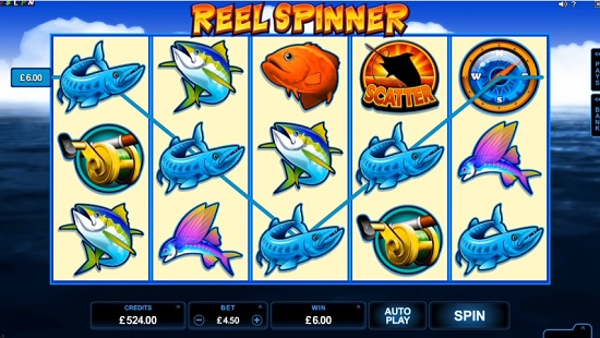 Reel Spinner Slot Screenshot Big