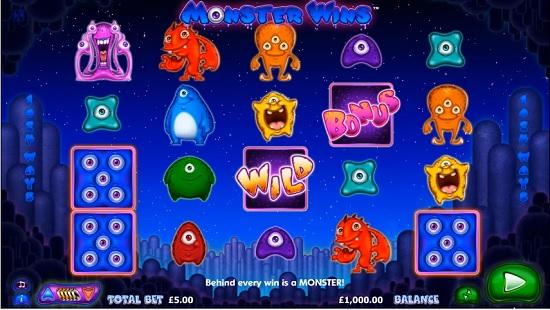 monster wins slot screenshot big