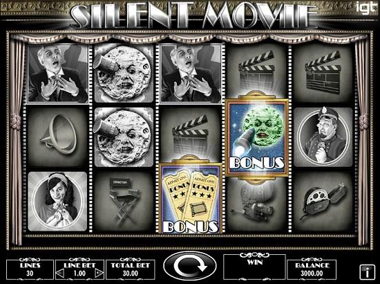 silent movie slot screenshot big