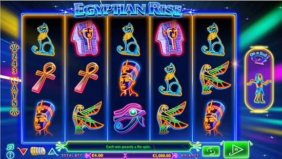 egyptian rise slot screenshot big