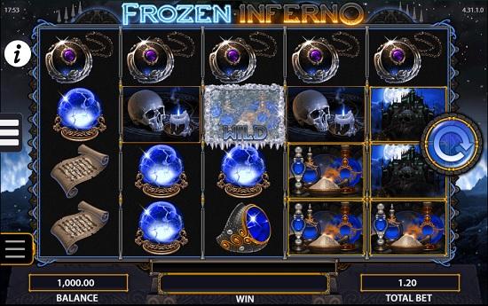 frozen inferno slot screenshot big