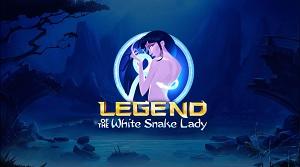 legend of the white snake lady slot logo