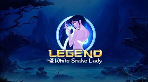 legend of the white snake lady slot logo