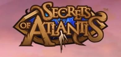 secrets of atlantis slot logo