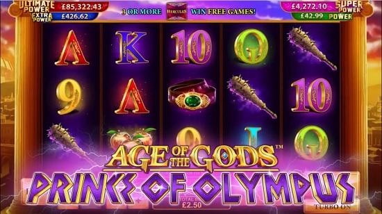 Age of the Gods prince of olympus screenshot big