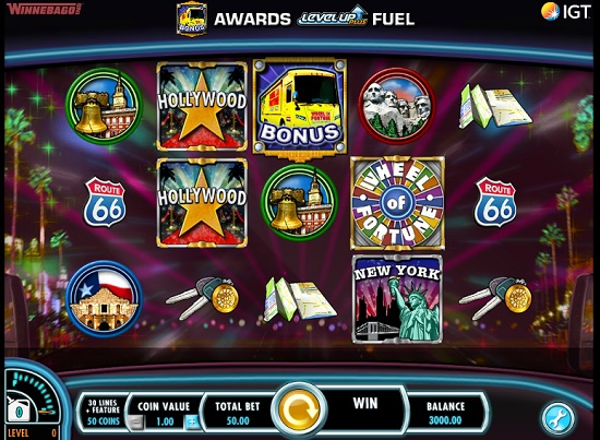 Wheel of Fortune On Tour Slot screenshot big