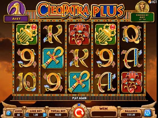 cleopatra plus slot screenshot big