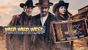 wild wild west slot logo