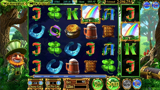 Charms and Clovers slots screenshot big