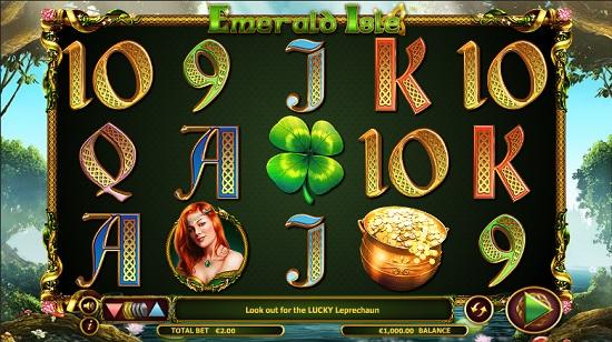 Emerald isle slot screenshot big