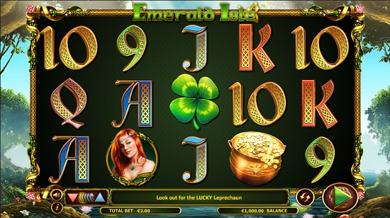Emerald isle slot screenshot big