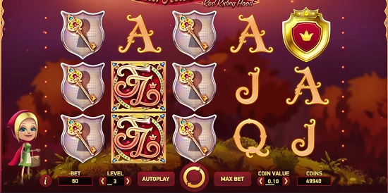 Fairytale Legends Red Riding Hood slot screenshot big