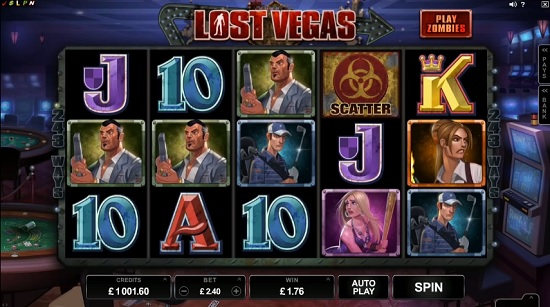 lost vegas slot screenshot big