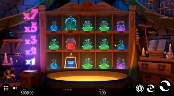 Frog Grog slot screenshot big