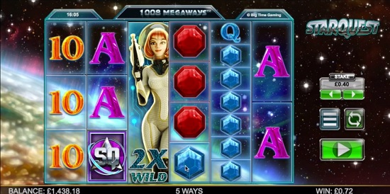 Starquest slot screenshot big