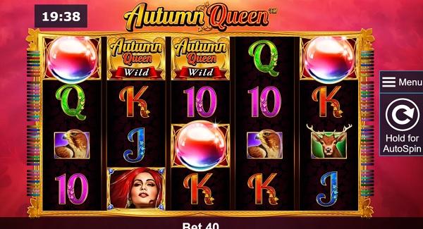 Autumn Queen Slot Screenshot big