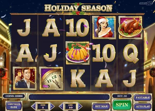 Holiday Season Slot Screenshot big