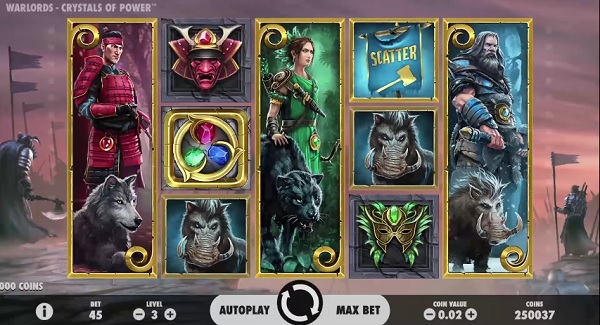 Warlords Crystals of Power Screenshot Big