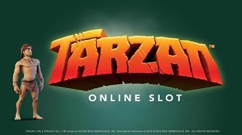 tarzan slot logo
