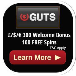 Guts Free Spins