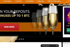 NEW BITCOIN CASINO: BitCasino.io