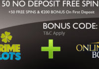 New: Exclusive 100 Free Spins from Prime Slots
